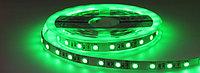 Светодиодная лента 5050 зеленого цвета 60 светодиодов на метр IP65, фото 1