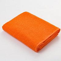 Полотенце махровое 'Экономь и Я' 30х60 см, цвет оранжевый