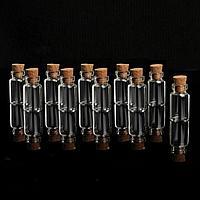 Баночки для хранения бисера, d 1,2 x 3 см, 10 шт
