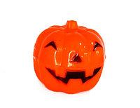 Тыква конфетница, подсвечник на Хэллоуин средняя