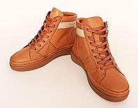 Женские осенние ботинки, натуральная кожа