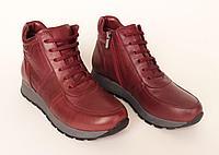 Осенняя женская обувь, кожа. 40