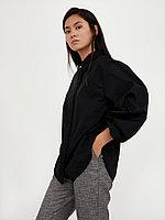 Блузка женская Finn Flare, цвет черный, размер 2XL