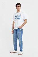 Джинсы мужские Finn Flare, цвет голубой, размер W36L36