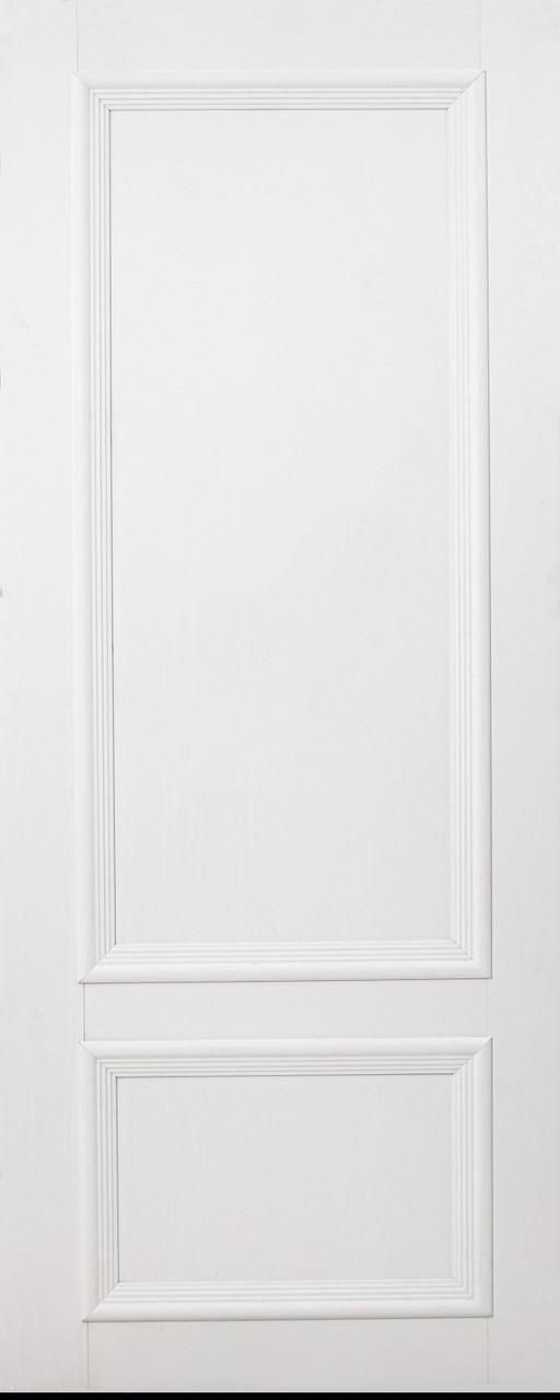 Межкомнатная дверь ДГ Вероника 01 Ясень белоснежный