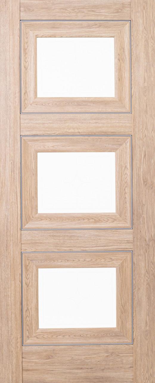 Межкомнатная дверь ДО 64 Дуб натуральный