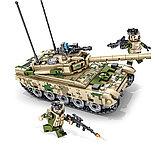 Конструктор аналог лего LEGO Sembo 105562 Основной боевой танк VT-4, фото 4