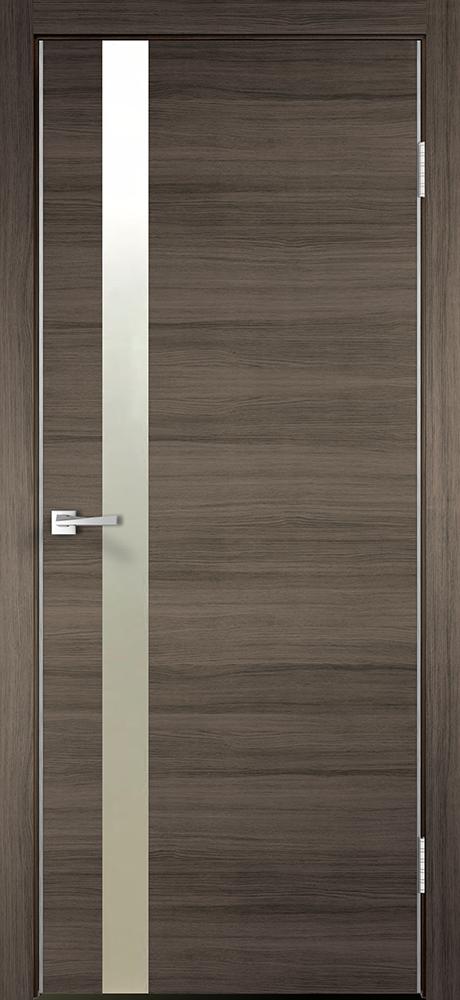 Межкомнатная дверь ДО TECHNO Z1, дуб серый