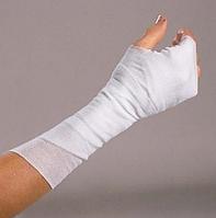 Наложение иммобилизационной повязки на кисть, стопу, предплечье взрослым