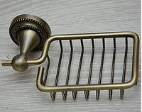 Мыльница металлическая, бронза 390721-1