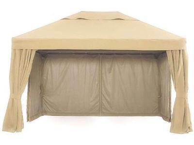 Садовый шатер Фиеста с москитной сеткой 4x4