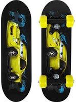 Скейтборд Onlitop Машинка 4013655 черный 17.3