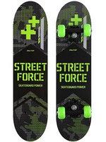 Скейтборд Onlitop Street Force 4013661 мультиколор 24.4