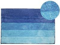 Коврик для ванной АКВАЛИНИЯ Полоска 50x80 синий