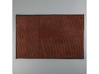 Коврик для ванной Доляна Букли 40×60 коричневый