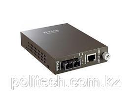 Медиаконвертер с 1 портом 10/100Base-TX и 1 портом 100Base-FX с разъемом SC для одномодового оптического