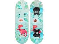 Скейтборд Onlitop Динозавр 5290549 голубой 17