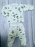 Комплект Clariss (кофта ползунки) игривое настроение цвет в ассортименте 62 р