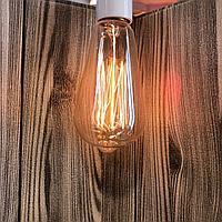 Вольфрамовые лампочки с нитью накаливания ,теплый оттенок