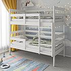 PITUSO Кровать Подростковая двухъярусная Hanna -2 New Белый (2 места)