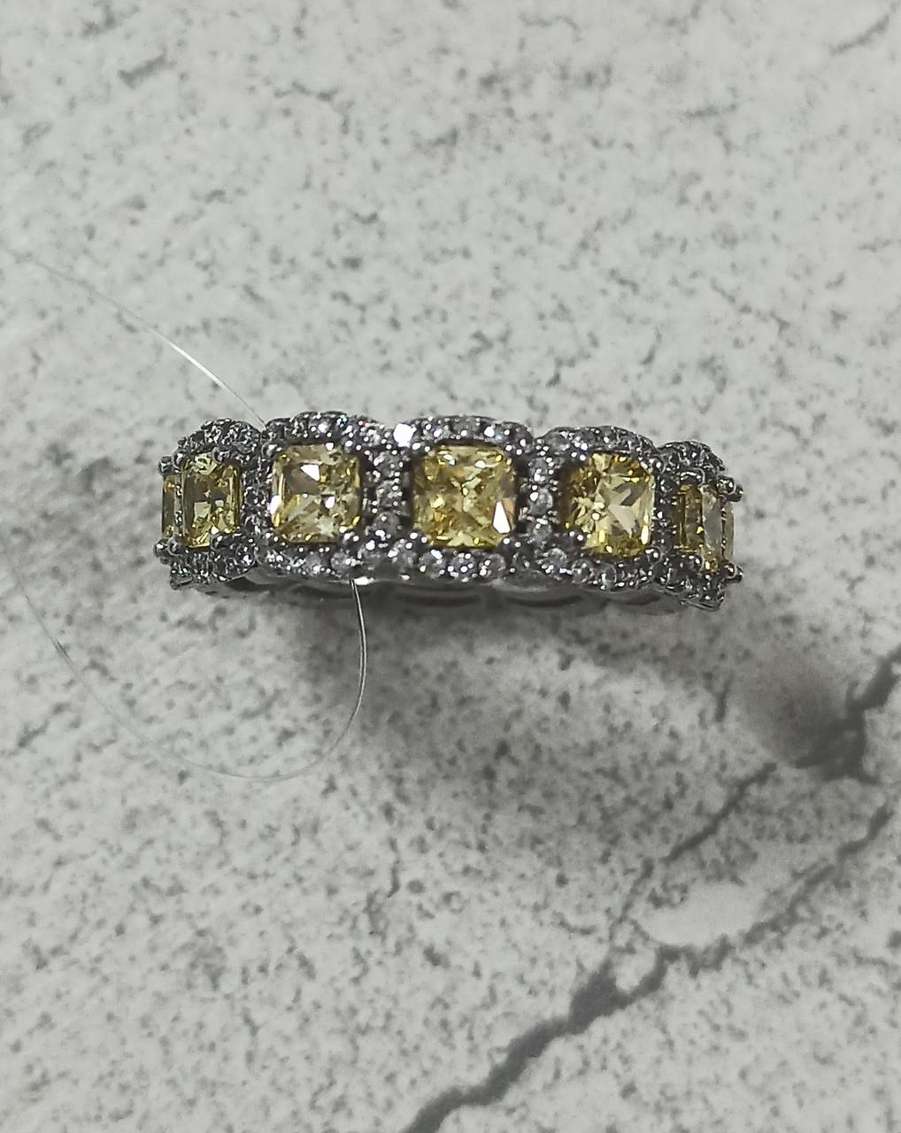 Кольцо серебро  размер кольца 18.