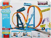 Трек Hot Wheels Конструктор Трасс Автотрек Бесконечная петля Mattel