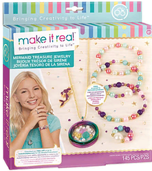 Набор для творчества Make It Real Набор для создания украшений Mermaid Treasure Jewelry