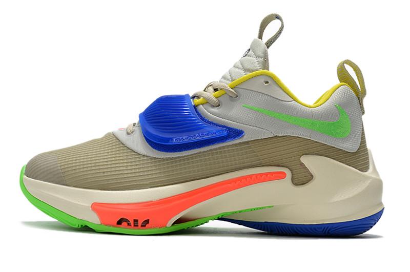 """Баскетбольные кроссовки Nike Zoom Freak 3 ( III ) """"Multicolor"""""""