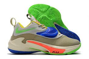 """Баскетбольные кроссовки Nike Zoom Freak 3 ( III ) """"Multicolor"""", фото 3"""