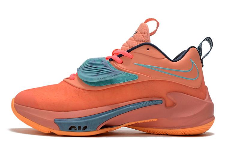 "Баскетбольные кроссовки Nike Zoom Freak 3 ( III ) ""Orange"""