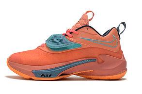 "Баскетбольные кроссовки Nike Zoom Freak 3 ( III ) ""Orange"", фото 2"