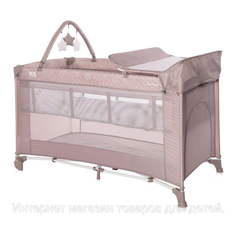 Кровать - манеж Lorelli TORINO 2 PLUS
