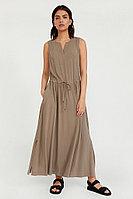 Платье женское Finn Flare, цвет светло-коричневый, размер 3XL