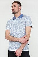 Поло мужское Finn Flare, цвет белый, размер XL