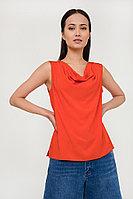 Блузка женская Finn Flare, цвет красный, размер 2XL