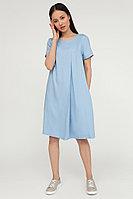 Платье женское Finn Flare, цвет голубой, размер S