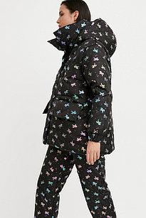 Куртка женская Finn Flare, цвет черный, размер XS