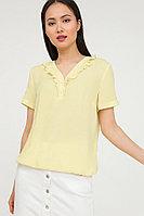 Блузка женская Finn Flare, цвет желтый, размер 3XL
