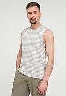 Майка мужская Finn Flare, цвет светло-серый, размер 3XL