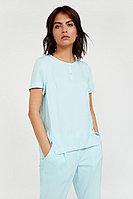 Блузка женская Finn Flare, цвет бирюзовый, размер XL