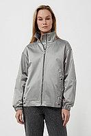 Ветровка из технологичной ткани Finn Flare, цвет светло-серый, размер 2XL