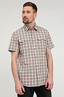 Рубашка мужская Finn Flare, цвет светло-коричневый, размер XL