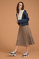 Куртка джинсовая женская Finn Flare, цвет синий, размер 2XL