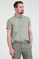 Рубашка мужская Finn Flare, цвет cement (серо-зеленый), размер XL