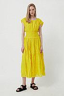 Платье женское Finn Flare, цвет светло-желтый, размер 2XL