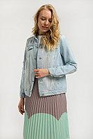 Куртка джинсовая женская Finn Flare, цвет голубой, размер S