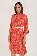 Платье женское Finn Flare, цвет красный, размер L
