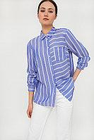Блузка женская Finn Flare, цвет голубой, размер S