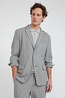 Пиджак мужской Finn Flare, цвет cement (серо-зеленый), размер 2XL