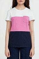 Футболка женская Finn Flare, цвет розовый, размер 3XL